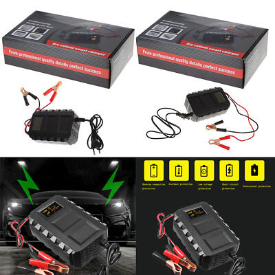 Intelligent 12V 20A Automobile  Lead Acid Battery Charger Car Motorcycle EU/US