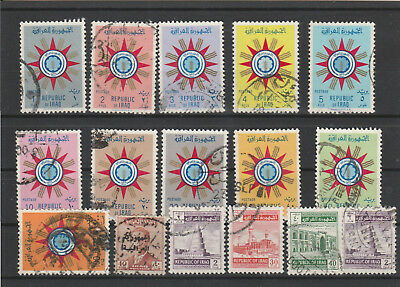 Iraq Iraq Middle East older Postage Stamps mix old Stamps mix Lot Am 5178