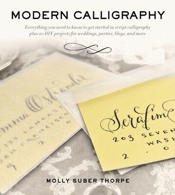 MODERN CALLIGRAPHY, Thorpe, Molly Suber, 9781250016324