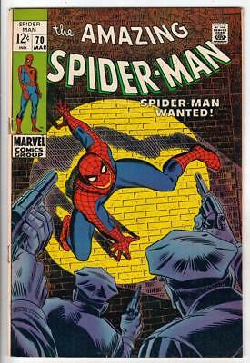 Amazing Spider-Man 70  strict  FN/VF The Kingpin, Gwen Stacy and Captain Stacy!