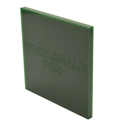 Dark British Racing Green 6643 Acrylic Perspex Plastic A5 A4 A3 3mm & 5mm Thick