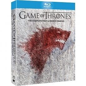 Game of Thrones - Season 1-2 Complete [Blu-ray] [2013] [Region Free], DVD, New,
