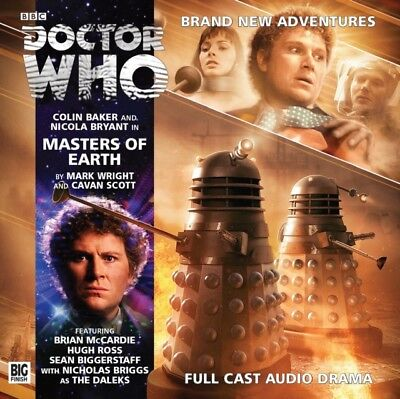Masters of Earth (Doctor Who) (Audio CD), Wright, Mark, Scott, Ca. 9781781783344