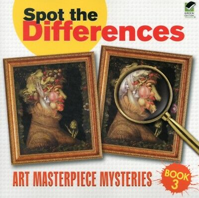 Art Masterpiece Mysteries 3, 9780486480855