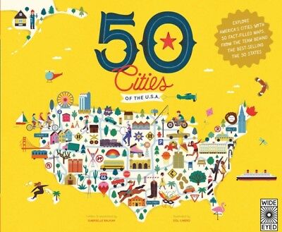 50 Cities Of The Usa, Balkan, Gabrielle, Linero, Sol, 9781847808707