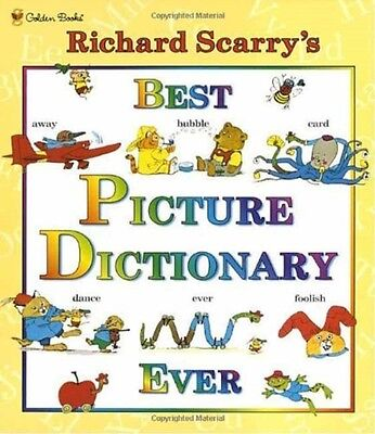 Best Picture Dictionary Ever (Hardcover), Scarry, Richard, 9780307155481