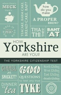 How Yorkshire Are You, Braddy, Adrian, 9781855683631