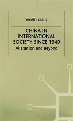 China In International Society          , Zhang, Y., 9780333607268
