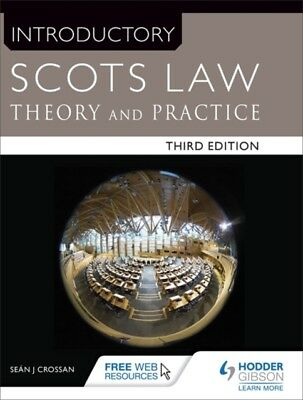 INTRODUCTORY SCOTS LAW, Crossan, Sean, 9781471863691