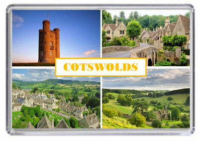 Cotswolds Fridge Magnet 01