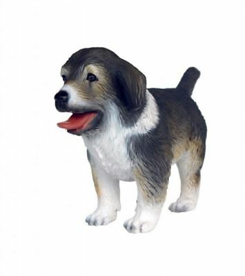 Australian Shepherd Standing Puppy Resin Dog Statue Display Prop Decor