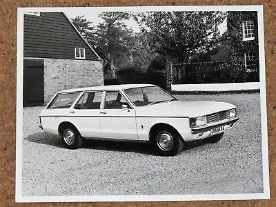 Original 1972 FORD GRANADA/CONSUL Mk1 ESTATE Press Photo - MINT