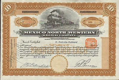 Mexican North Western Railway 1910 Canada Pancho Villa Robbed Killed 18 People
