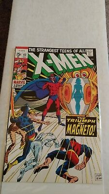 X-Men #63 JCPenney Sears Stridex Reprint NM Hard to Find!