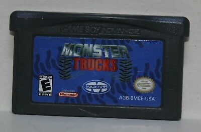 Monster Trucks Gameboy Advance GBA Nintendo Majesco