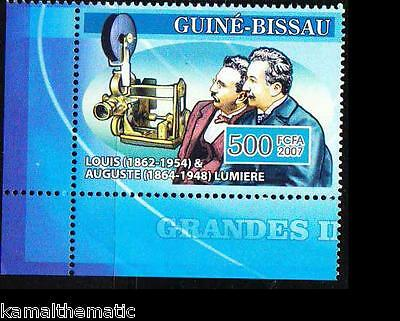 Guine Bi. MNH,  Lumière Brothers, Invented motion Picture, Photography
