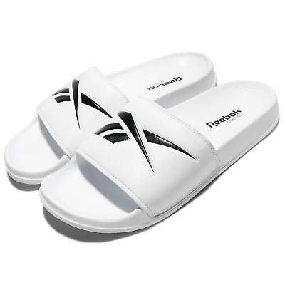 15db3a59c0a632 Reebok Classic Slide White Black Men Women Sports Sandal Slippers CN0213
