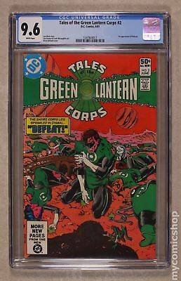 Tales of the Green Lantern Corps #2 1981 CGC 9.6 1247804017