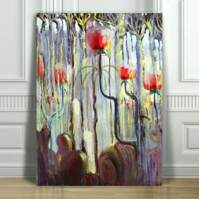 MIKALOJUS CIURLIONIS - Creation of the World - CANVAS PRINT POSTER - 12x8""