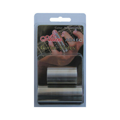 Alice A046C Stainless Steel Guitar Slides - New