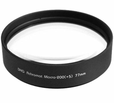 Marumi 77mm 77 DHG Macro +5 200 Achromat Achromatic Close up Lens made in Japan