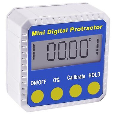 Digital BEVEL BOX Inclinometer Angle Gauge Meter Protractor 360° with Magnets