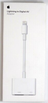 Genuine Apple MD826ZM/A Lightning Digital A/V HDMI Adapter, iPhone to TV Adapter