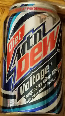 1 ONE Mountain Dew DIET VOLTAGE 12 oz Can Limited Edition FULL 2011 Discontinued