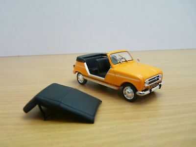 RENAULT 4L PLEIN AIR cabriolet orange 1/43 R4