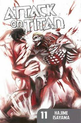 Attack on Titan 11 by Hajime Isayama | Paperback Book | 9781612626772 | NEW