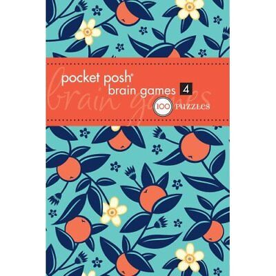 Pocket Posh Brain Games 4 - Paperback NEW The Puzzle Soci 2012-09-27
