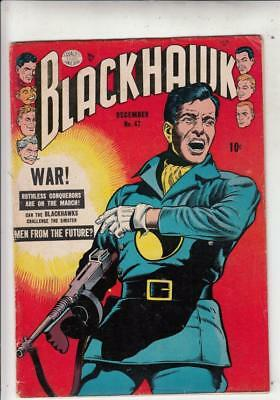 Blackhawk 47 strict FN-  1st  Men From The Future, Invaders From Inferno
