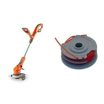Flymo Contour 500E Electric Grass Trimmer and Edger 500W with Flymo Double Li...