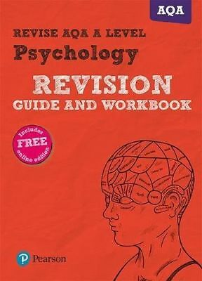 Revise AQA A Level Psychology Revision Guide and (Paperback) 1292111216