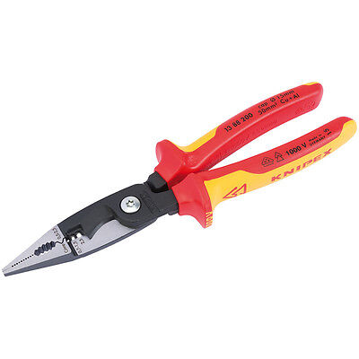 Knipex 13 88 200 VDE Insulated Electrical Multifunctional Combination Pliers
