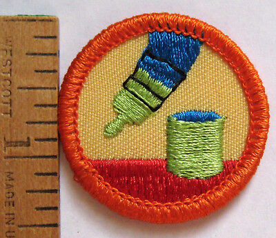 Badges patches girl scouts girl guides fraternal organizations girl scout junior 1980 2001 do it yourself badge paintbrush handyman patch solutioingenieria Gallery
