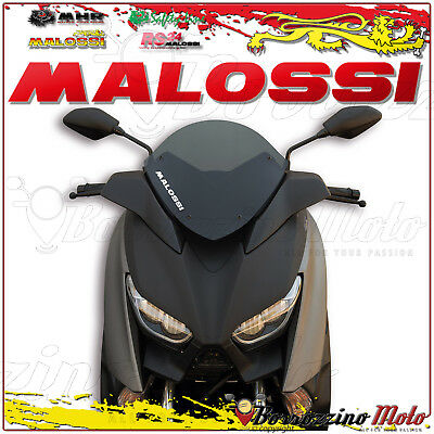 MALOSSI 4517837 CUPOLINO MHR FUMÉ SCURO YAMAHA XMAX 300 ie 4T LC euro 4 2018