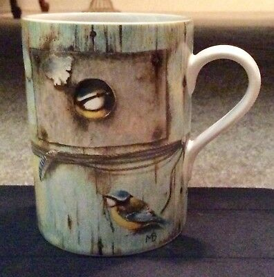 Marjolein Bastin Bird House Mug Blue Made In Thailand