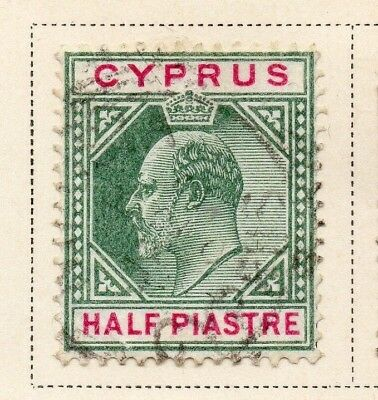 Cyprus 1903 Early Issue Fine Used 1/2p. 220327
