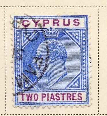 Cyprus 1904 Early Issue Fine Used 2p. 220331