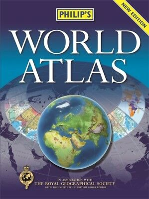 Philip's World Atlas: Hardback (Hardcover), 9781849073936