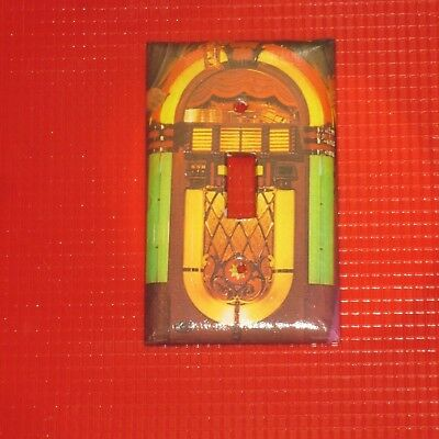 Classic Vintage Jukebox Light Switch Cover Plate