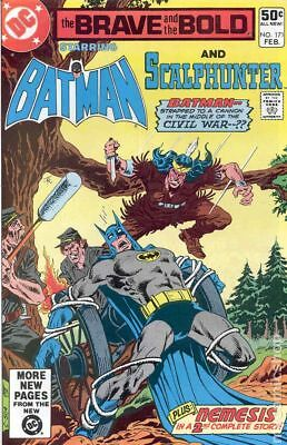 Brave and the Bold (1st Series DC) #171 1981 VF Stock Image