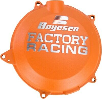 Boyesen Factory Clutch Cover / Orange - KTM 11-15 450 SX-F