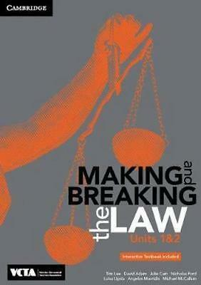NEW Cambridge Making and Breaking the Law VCE Units 1 and 2 Pack (Textbook and I