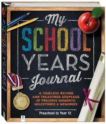 NEW My School Years Journal (refresh) (UK) Hardcover Free Shipping