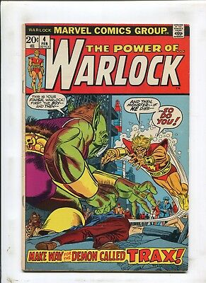 "Warlock #4 - ""the Demon Called Trax!"" - (7.0) 1973"