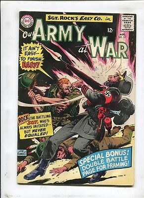"Our Army At War #157 - ""nothin's Ever Lost In War!"" - (4.0) 1965"