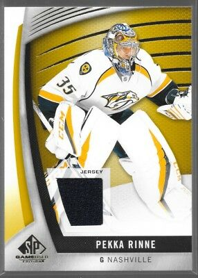17/18 SP Game Used Jersey Pekka Rinne 54 Predators