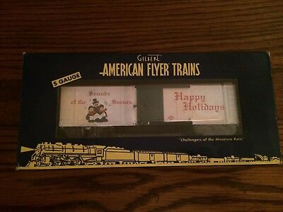 American Flyer by Lionel 49061 Christmas Music Reefer New in Box!